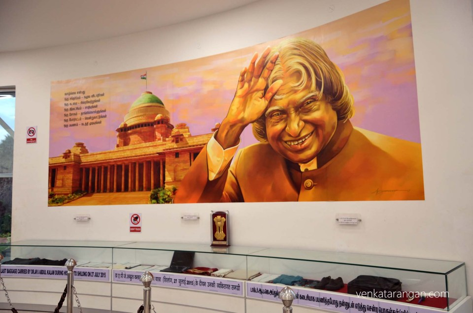 Personal belongings of Dr Kalam on his last trip to Shillong 27 July 2015