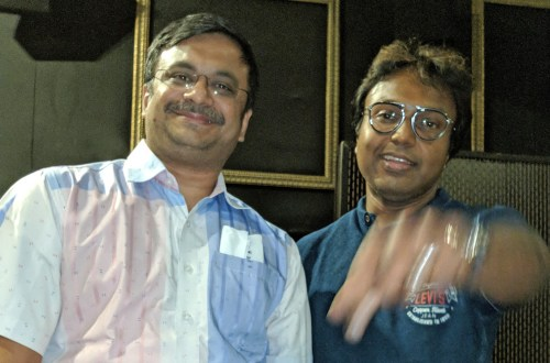 With Music Director D Imman