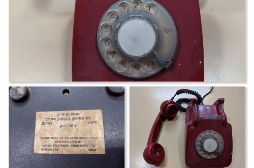 Rotary Dial Phone made by ITI, India