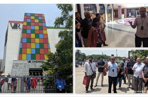 கதை, கலை, பாரம்பரியம் - வீ.ஆர்.மால், அண்ணா நகர், சென்னை