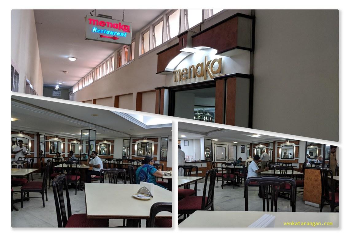 Menaka Restaurant at Hotel Palmgrove, Chennai