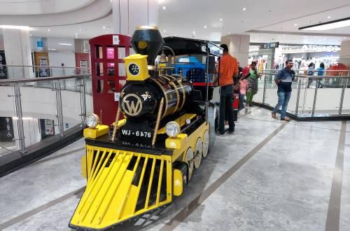 Toy Train at the Phoenix Mall, Velachery