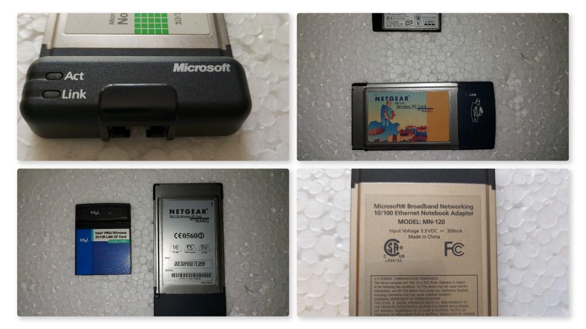 PCMCIA & CF Cards
