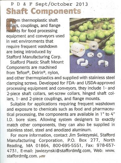 Stafford Clip 001 Plastics Distributor