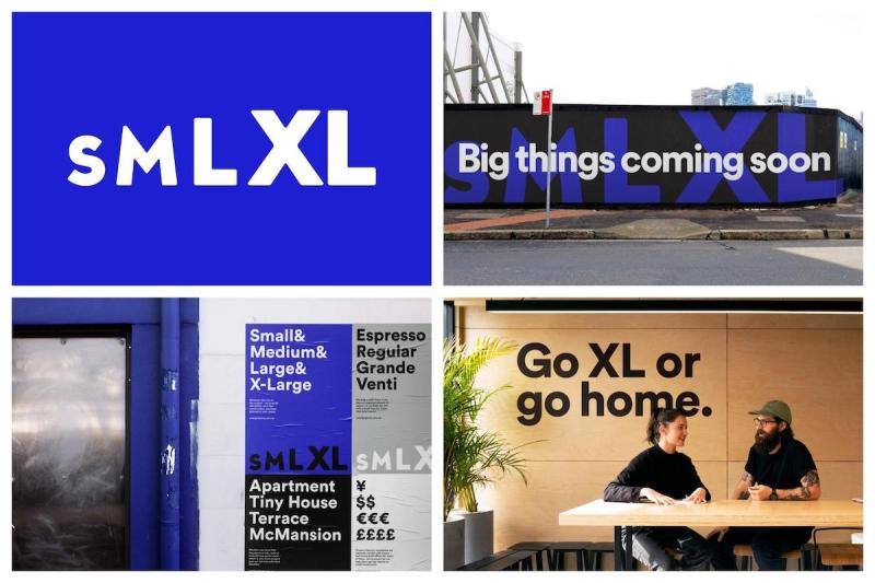 Graphic Design Trends 2020 - Bold Fonts 6
