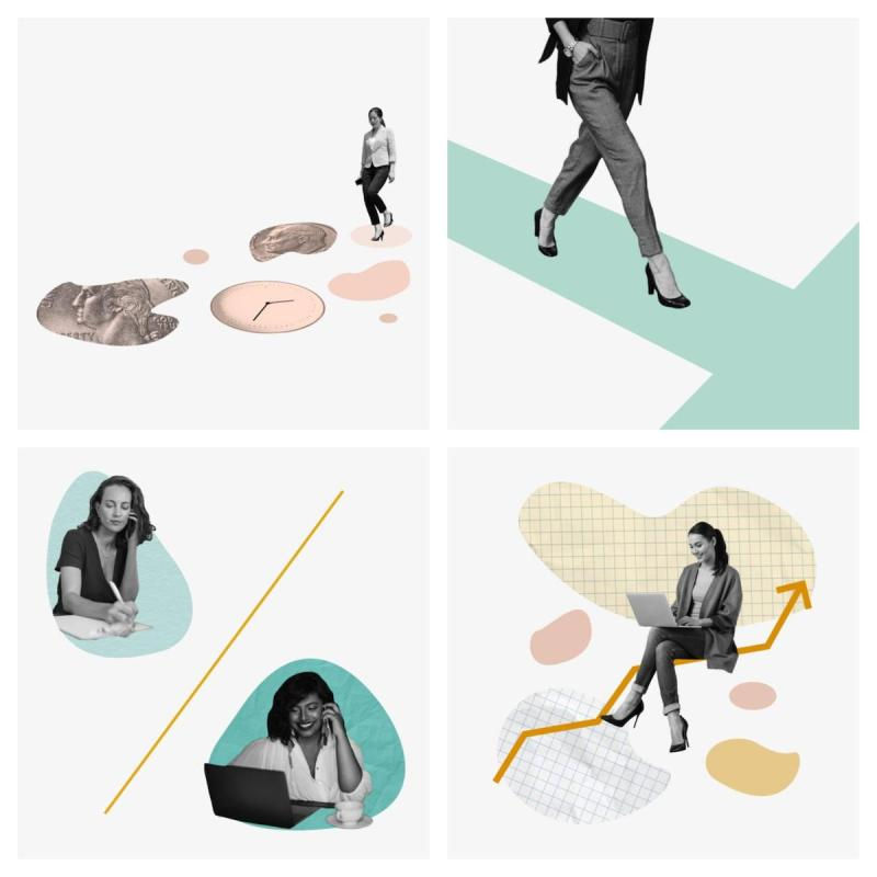 Graphic Design Trends 2020 - Muted Color Palettes 11