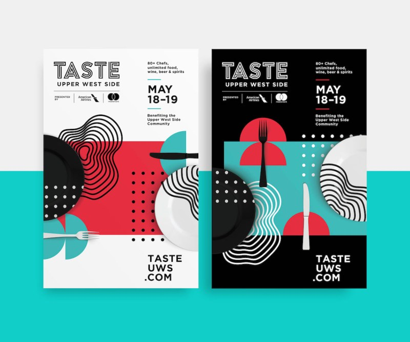 Graphic Design Trends - Light and Dark Color Schemes 5