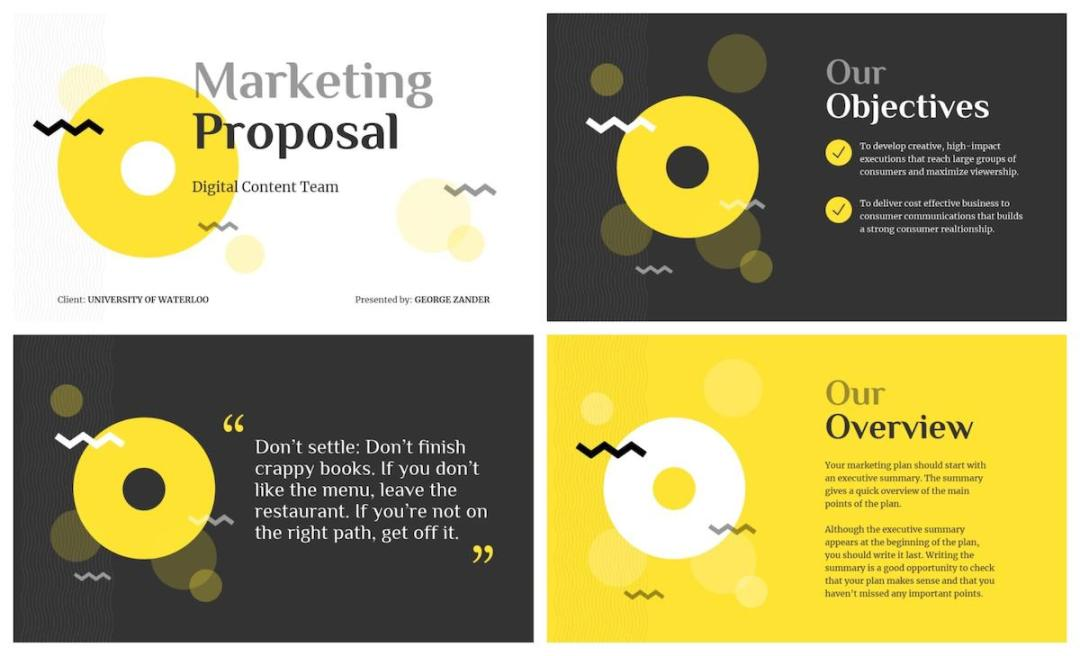 Graphic Design Trends - New Colorful Minimalism 3