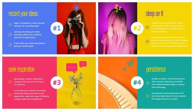 Graphic Design Trends - Pops of Vivid Colors 7