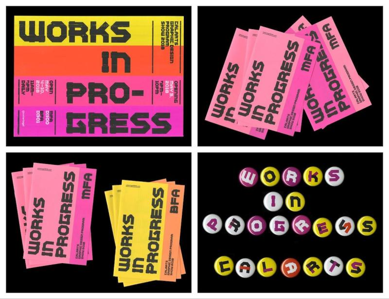 Graphic Design Trends - Strong Typographic Focal Points 6