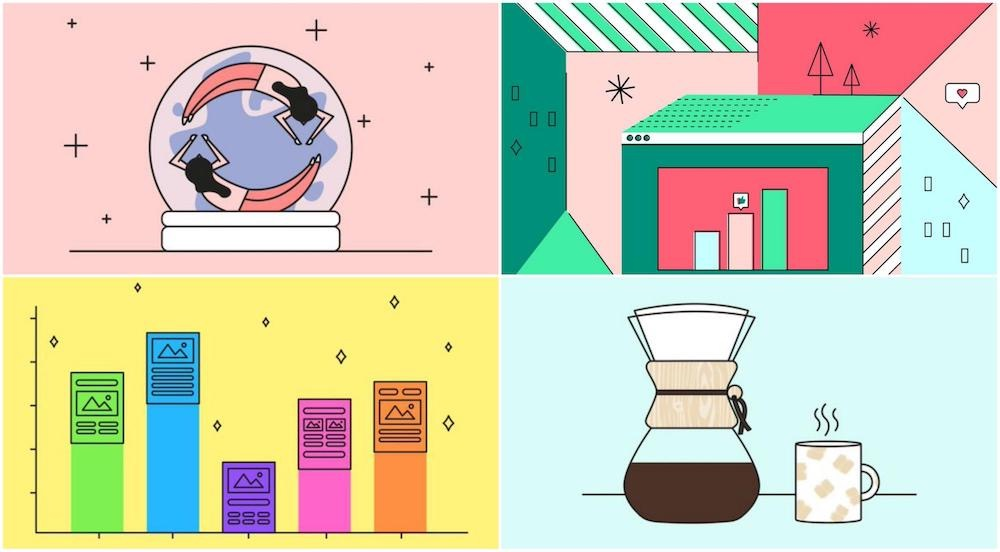 Graphic Design Trends 2021 Examples13