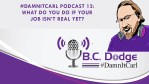 #DamnItCarl Podcast 12: What Do You Do If Your Job Isn't Real Yet?