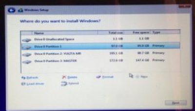 "[Solved] Cara Instal Ulang Laptop "" Windows Cannot Be Installed To This Disk, The Selected Disk Is Of The GPT Partition Style."
