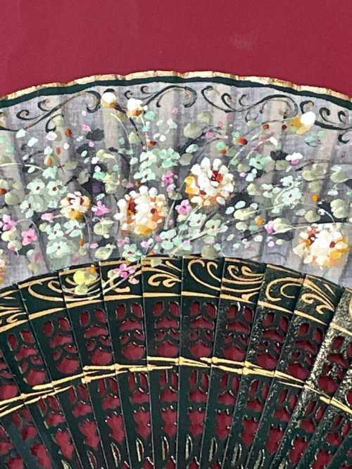 ventaglio Santiago dettaglio fiori