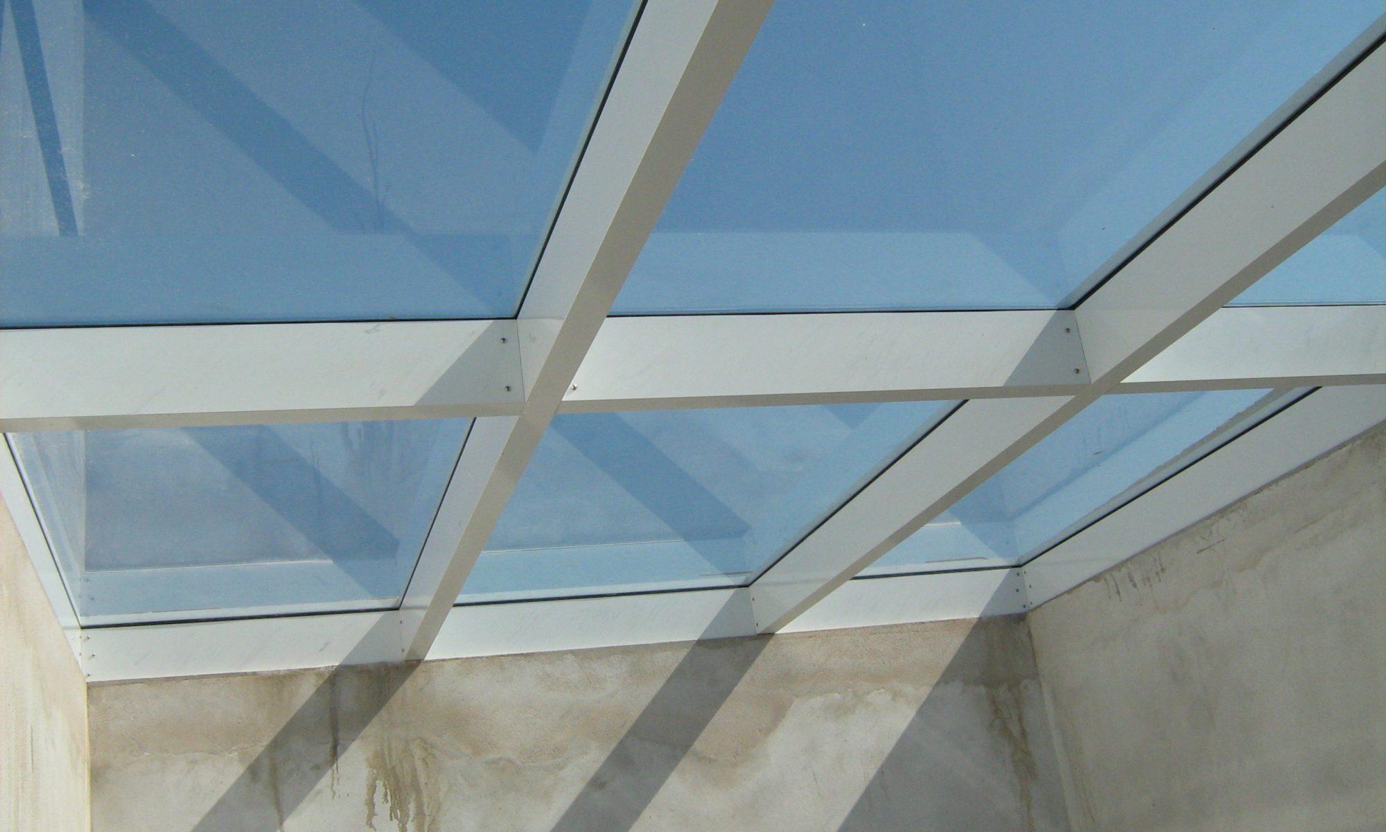 claraboya de aluminio