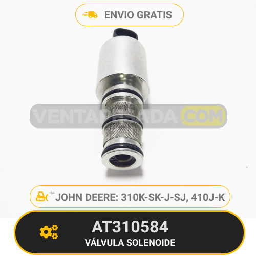 AT310584-VÁLVULA-SOLENOIDE310K-SK-J-SJ-410J-K-JOHN-DEERE