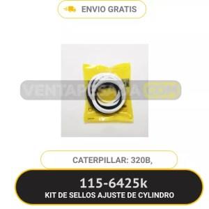 1156425K KIT DE SELLOS AJUSTE DE CYLINDRO 320B 318B CATERPILLAR