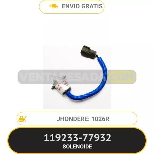 11923377932 SOLENOIDE 12026R JHONDERE