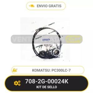 708-2G-00024K KIT DE SELLOS PC300LC-7 300LC-8 KOMATSU