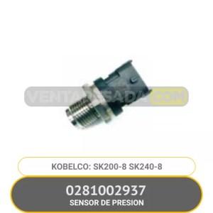 0281002937 SENSOR DE PRESION SK200-8 SK240-8 KOBELCO