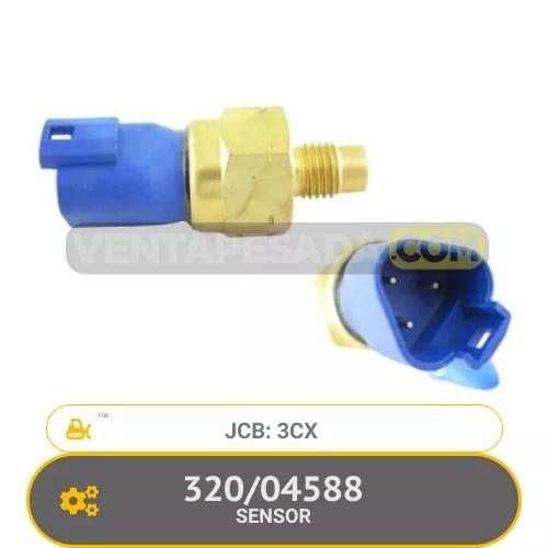 320/04588 SENSOR 3CX JCB