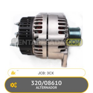 320/08610 ALTERNADOR 3CX, JCB
