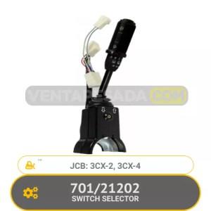 701/21202 SWITCH SELECTOR 3CX-2, 3CX-4, JCB