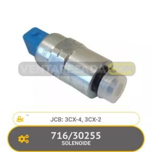 716/30255 SOLENOIDE 3CX-4, 3CX-2, JCB