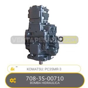 708-3S-00710 BOMBA HIDRAULICA PC35MR-3 KOMATSU