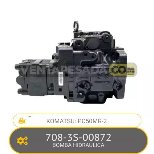 708-3S-00872 BOMBA HIDRAULICA PC50MR-2 KOMATSU
