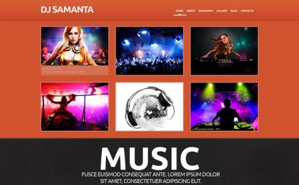 DJ Responsive WordPress Theme