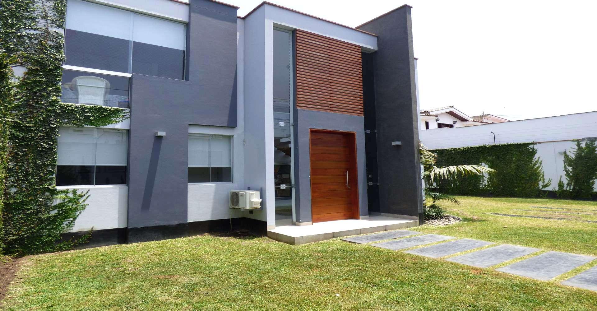 Moderna y exclusiva arquitectura