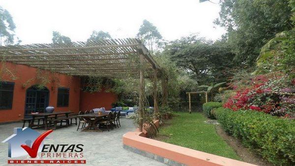 Venta Casa De Campo En Condominio Exclusivo En Cieneguilla