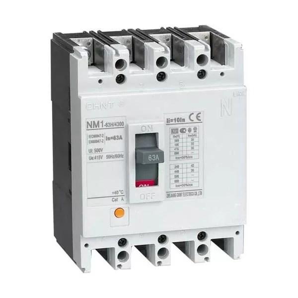 NM1 MCCB 2 CHINT NM1-800H-3P-800A