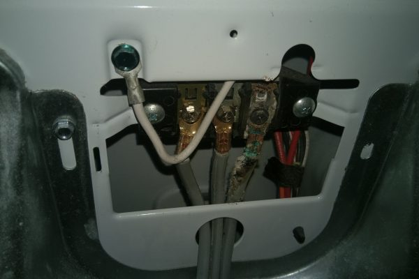 We decided to clean out the customer's dryer (free!) after we found mouse droppings near the exhaust.  When we took the back panel off we saw the power connection had melted due to overheating caused by the clogged dryer vent.  We were able to replace a couple of parts and put on a new cord for the customer.