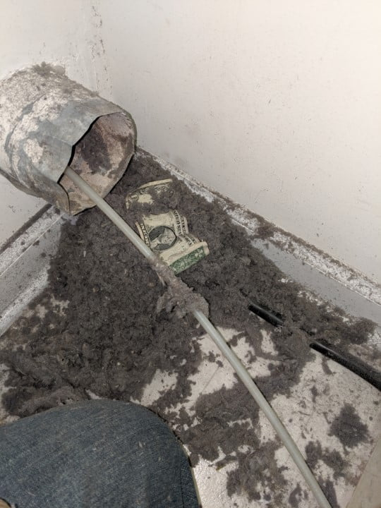 dryer vent cleaning cost