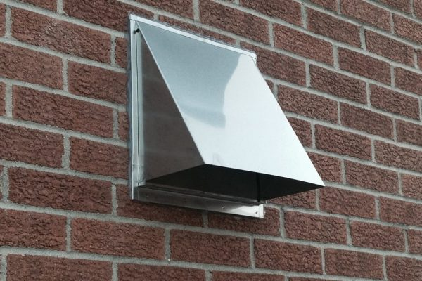 stainless dryer vent hood