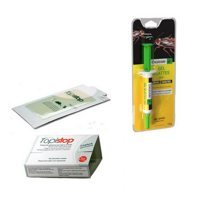 Pack anti cafards professionnel ultra efficace