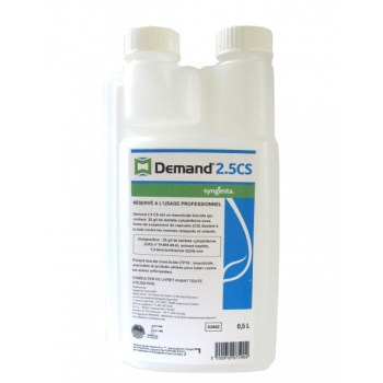 <center>INSECTICIDE CONCENTRÉ DEMAND 2.5 CS</center>