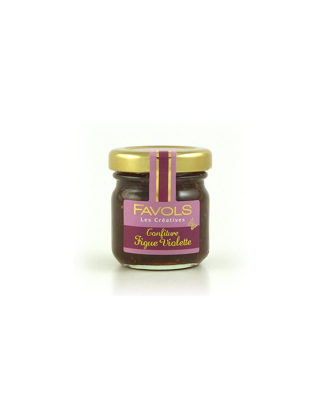 confiture figue violette 42grs