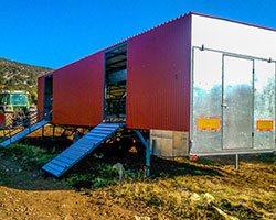 Μετακινούμενο Αρμεκτικό - Πλατφόρμα για Αρμεκτικά Venter Προβατοτεχνική