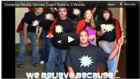 Team Spirit: In. Three. Words.