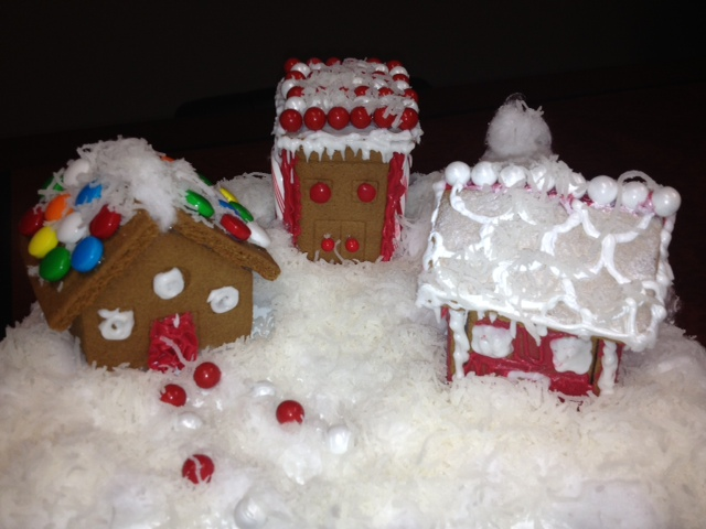 Tis the season…to build a Gingerbread House