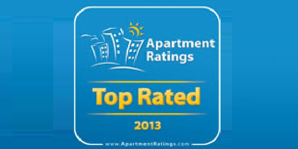 Venterra Realty Apartments Receive ApartmentRatings.com Top Rated Award