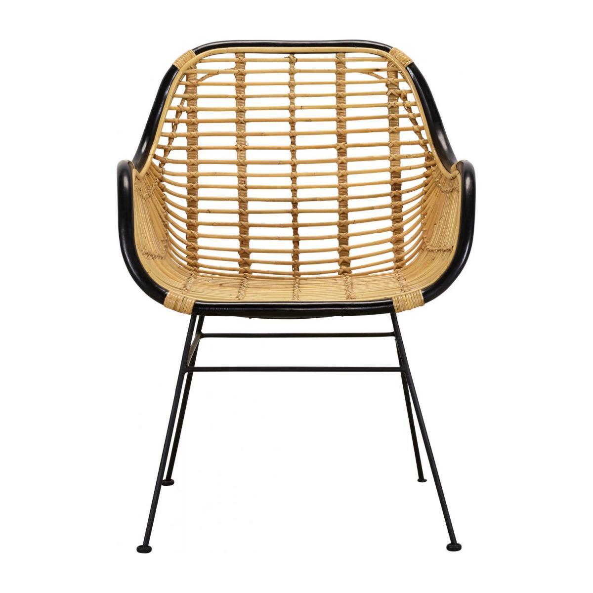 bea chaise en rotin habitat chaises