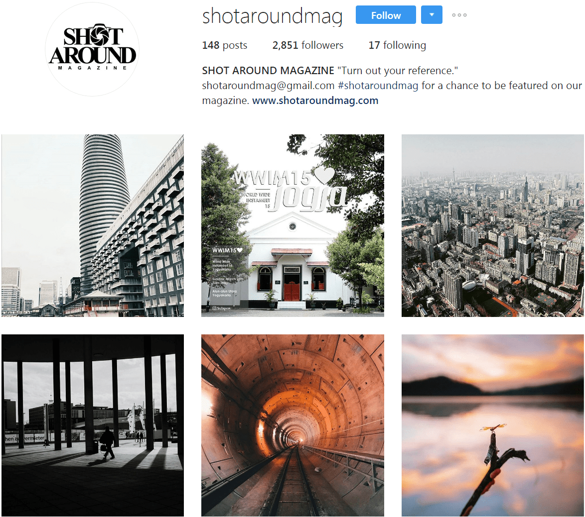 instagram photography feature accounts