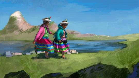 Oggi è la Giornata mondiale dell'acqua: le sorelle Machaca ci ricordano perché è sacra