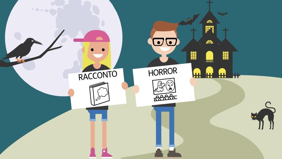 """Storie horror scritte in """"codice"""" CAA: brividi per tutti nella II A, nessuno escluso!"""
