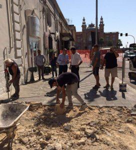 11-07-16 cantiere per sostituzione pavimentazione in corso Vittorio Emanuele2