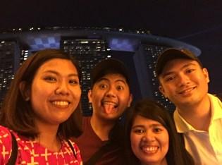 #SingaFOUR at The Marina Bay Sands